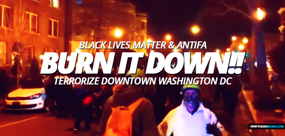 antifa-black-lives-matter-domestic-terrorists-terrorism-washington-dc-joe-biden-february-6-2021-democrats-support-riots-kamala-harris
