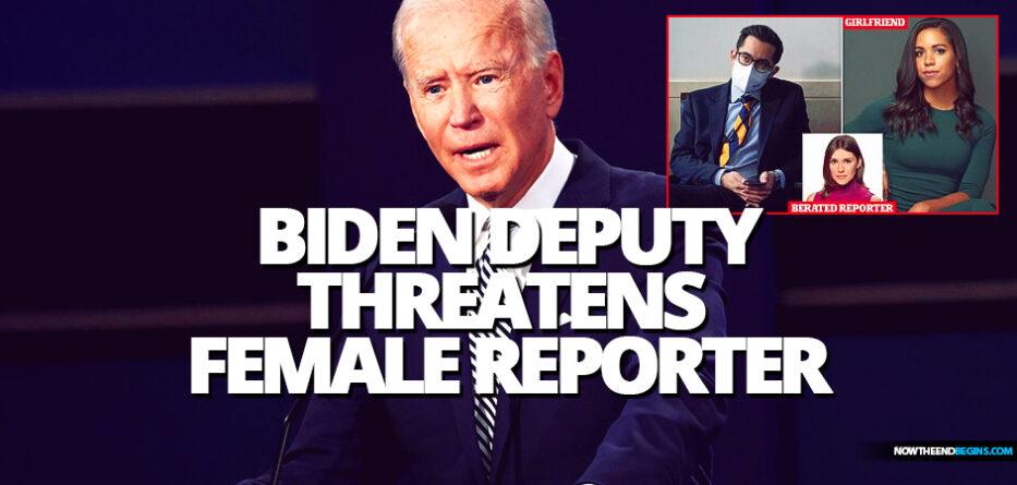 joe-biden-deputy-press-secretary-tj-ducklo-threatens-female-reporter-says-i-will-destroy-you-not-fired-mysoginist-tara-reade