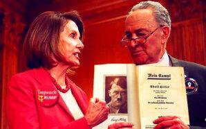 phony-sham-impeachment-donald-trump-shows-america-in-state-civil-war-nancy-pelosi-chuck-schumer-mein-kampf-biden-reich-congress-senate-nazi-democrats