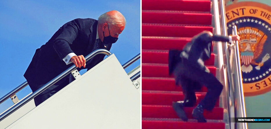 joe-biden-trips-going-up-steps-air-force-one-washington-dc-cognitive-decline-president