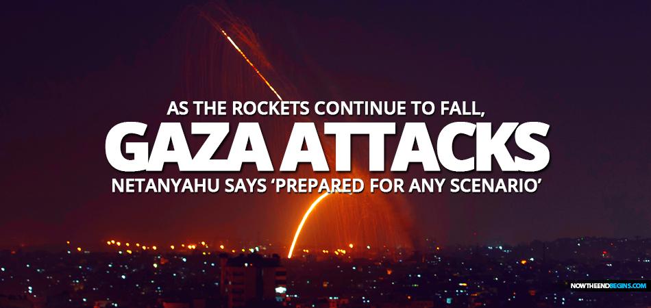 gaza-hamas-fires-rockets-across-border-southern-central-israel-netanyahu-prepared
