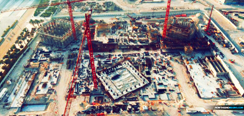 chrislam-abrahamic-family-house-saadiyat-island-abu-dhabi-construction-progress-june-2021-one-world-religion-declaration-human-fraternity