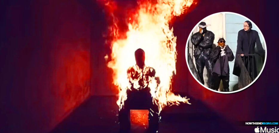 fake-christian--kanye-west-sets-himself-on-fire-donda-album-release-party-marilyn-manson-changes-name-to-ye