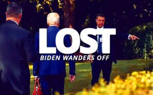 president-joe-biden-senior-moment-mentally-lost-wanders-into-bushes-confused-unable-to-follow-secret-service-cognitive-decline