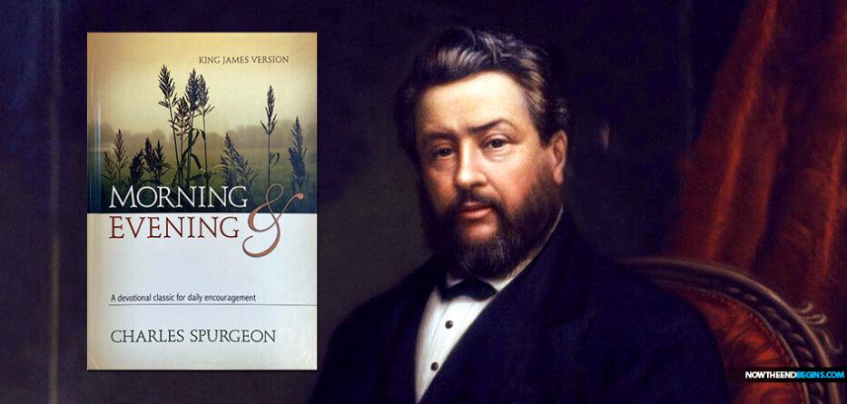 charles-spurgeon-devotional-morning-evening-king-james-bible-version-prince-preachers-dwight-moody-nteb-christian-book-store-saint-augustine-florida