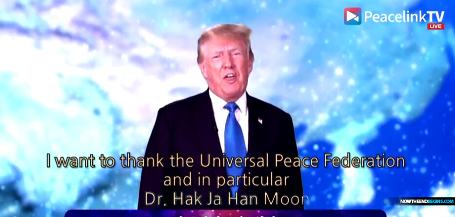 donald-trump-speaks-think-tank-peacelink-unification-church-paula-white-mother-moon-moonies