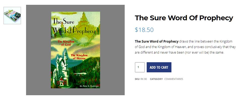 ruckman-kingdom-of-heaven-god-sure-word-of-prophecy-king-james-bible-believers-bookstore-saint-augustine-florida