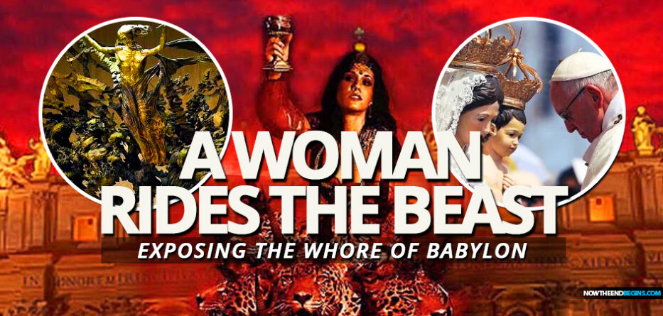 woman-rides-beast-dave-hunt-roman-catholic-church-revelation-17-18-mystery-babylon-harlot-whore-vatican-system
