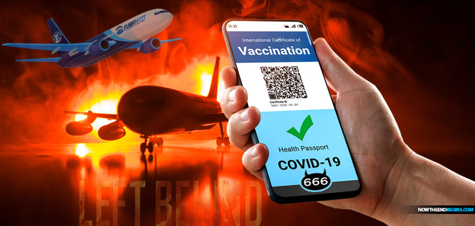 covid-19-vaccine-digital-identificaition-vaccination-passport-flight-777-left-behind-666-mark-beast-system