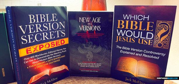 new-age-bible-versions-gail-riplinger-king-james-1611-jack-mcelroy-authorized-version-nteb-christian-books-saint-augustine-jacksonville-florida