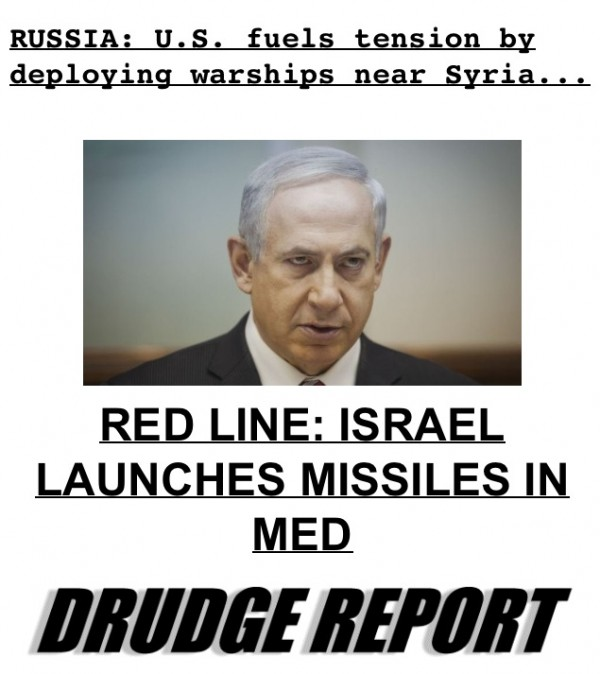 israel-and-US-launch-missile-in-the-med