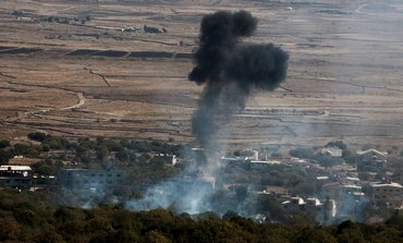 israel-hits-source-of-second-syrian-mortar-fire-shell-november-12-2012