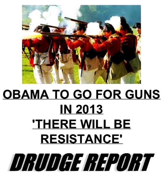 """Obama On Gun Grab Says """"There Will Be Resistance"""""""