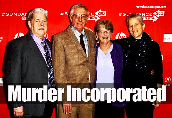 Murders Row:: Left to right - Doctors LeRoy Carhart, Warren Hern, Susan Robinson and Shelley Sella at the premier of After Tiller at the 2013 Sundance Film Festival